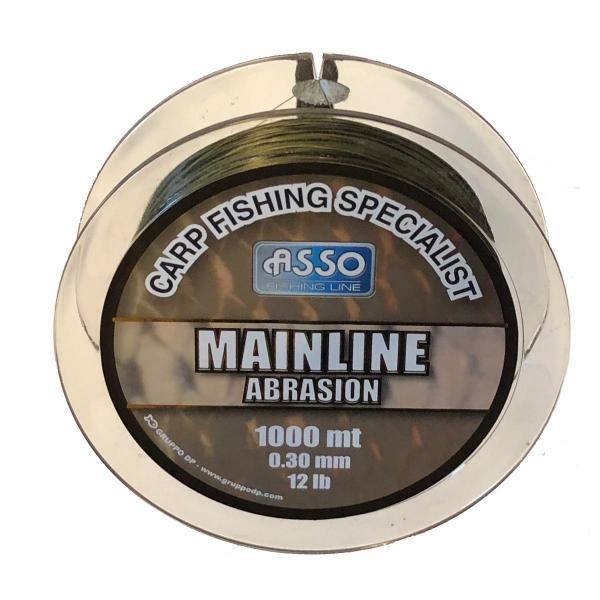 ASSO Carp Mainline Abrasion 0,28mm 1000m camo - pontyozó zsinór