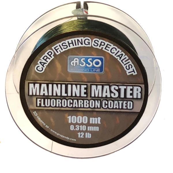 ASSO Carp Mainline Master 0,35mm 1000m zöld - pontyozó zsinór