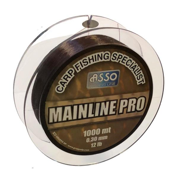 ASSO Carp Mainline Pro 0,28mm 1000m barna - pontyozó zsinór