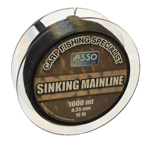 ASSO Carp Mainline Sinking 0,28mm 1000m - pontyozó zsinór