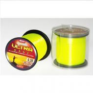 ASSO Ultra Cast 0,26mm/1000m - fluo sárga