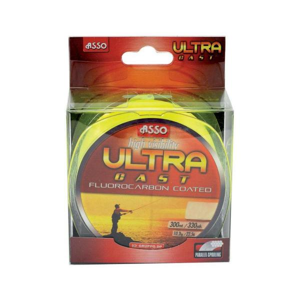 ASSO Ultra Cast 0,22mm/300m - fluo sárga