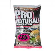 BAIT-TECH Pro Natural Fine Lake Dark etetőanyag 1,5kg