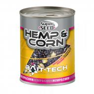 BAIT-TECH Superseed hemp & sweetcorn 350gr konzerv