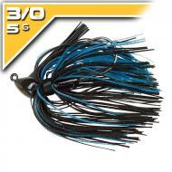 BOOYAH Baby BOO - Black/Black Blue - 5g-3/0 szoknyás jig