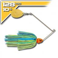 BOOYAH Covert - 10,5g Blue Chartreuse Orange Head