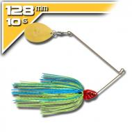 BOOYAH Covert - 10,5g Blue Chartreuse Red Head