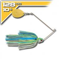 BOOYAH Covert - 10,5g White Chartreuse Blue