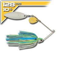 BOOYAH Covert - 10,5g - White Chartreuse Blue-d