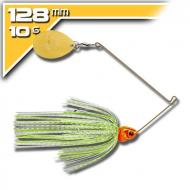 BOOYAH Covert - 10,5g White Chartreuse Silver Scale Orange Head