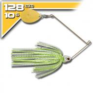 BOOYAH Covert - 10,5g White Chartreuse Silver Scale Pearl Chartreuse