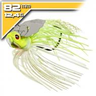 BOOYAH Melee - White Chartreuse/Silver blade - 12,4g/8,2cm
