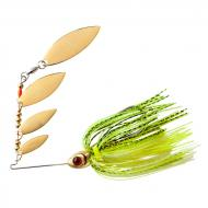 BOOYAH Super Shad Spinner - Chartreuse Gold Shiner 10g