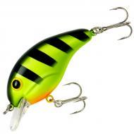 Bandit 100 Crankbait - Chartreuse Black Stripes 5cm/7g