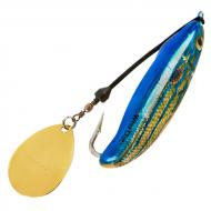 Bomber Who Dat Rattling Spinner Spoon - Natural Pinfish 6,5cm/24g