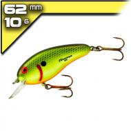 Bomber Flat A 6,25cm/10,6g Chartreuse Black Scales