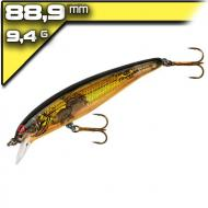 Bomber Long A14 Chartreuse Flash Orange Belly 8,89cm/10,6g wobbler