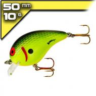 Bomber Square A 5cm/10g Chartreuse Black Scales