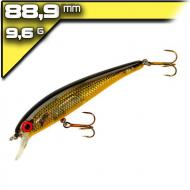 Bomber Suspend Pro Long A14 Chartreuse Flash Orange Belly 8,89cm/9,6g wobbler