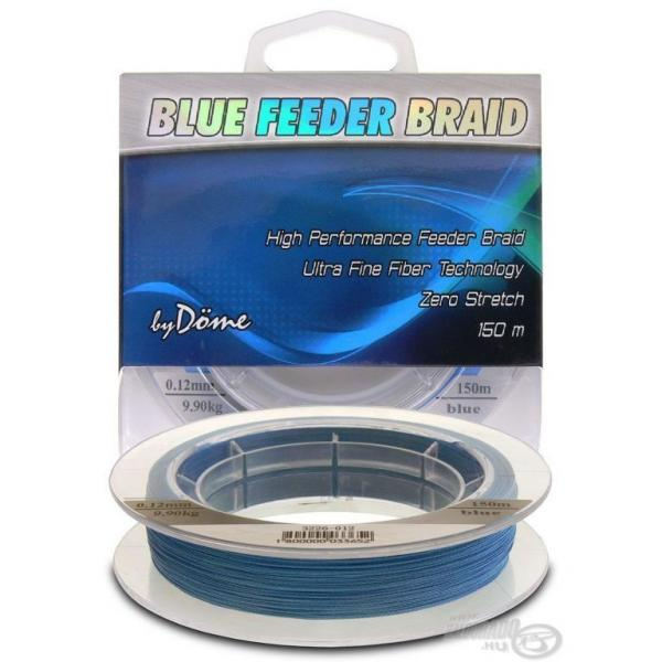 By Döme TF Blue Feeder Braid 150m 0,08mm fonott feeder főzsinór