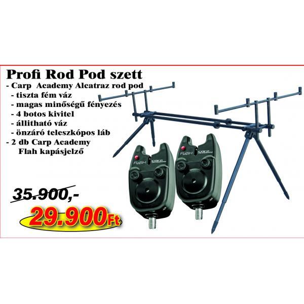 CARP ACADEMY Profi Rod Pod szett KB-456