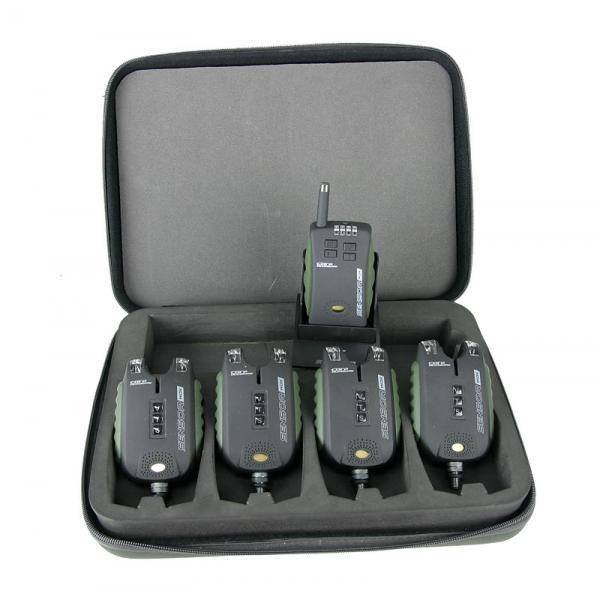 CARP ACADEMY Sensor WDX elektromos kapásjelző szett 4+1