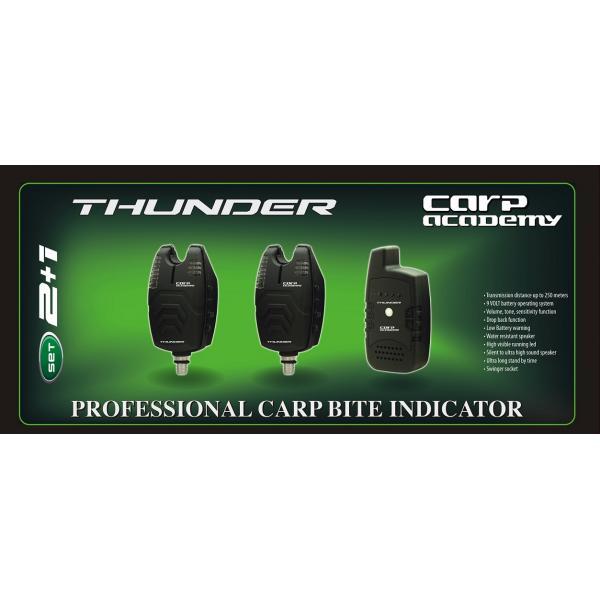 CARP ACADEMY Thunder kapásjelző szett 2+1db