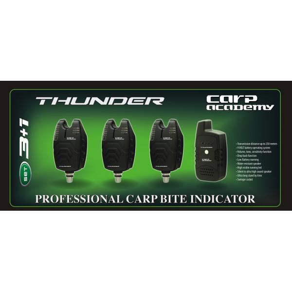 CARP ACADEMY Thunder kapásjelző szett 3+1db