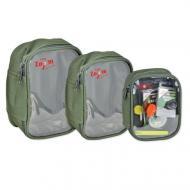 CARP 'N' CARP átlátszó tetejű táska közepes 17x11x6cm