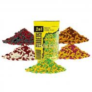 CARP ZOOM 2in1 Gyors oldódású pellet - Fűszeres fokhagyma 6mm (500g)