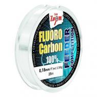 CARP ZOOM FC Fluorocarbon előke 0,18mm 25m