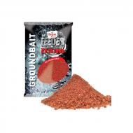 CARP ZOOM Feeder Zoom Strawberry-Fish-Robin red 1kg etetőanyag