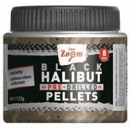 CARP ZOOM Pre-Drilled - Fekete Halibut horogpellet 15mm/fúrt
