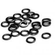 CARP ZOOM előkegyűrű 3,1mm matt fekete 25db
