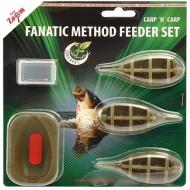 CARP ZOOM Fanatic method feeder kosár szett