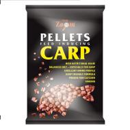 CARP ZOOM Flavoured pellets 800g 6mm piros-eper