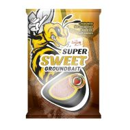 CARP ZOOM Super Sweet groundbait, 1kg, sweet honey (édes méz)