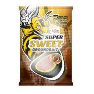 CARP ZOOM Super Sweet groundbait, 1kg, sweet honey (édes méz)