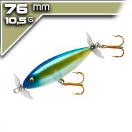 Cotton Cordell Crazy Shad 7,62cm/10,5g - Blue Back Herring - topwater