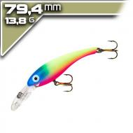 Cotton Cordell Suspended Wally Diver 7,94cm/13,8g - Blue Face Clown