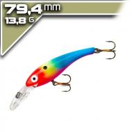 Cotton Cordell Suspended Wally Diver 7,94cm/13,8g - Fire Face Clown
