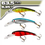 Cotton Cordell Wally Diver 3db-os Pack 6,35cm/6,35g - 3 szín