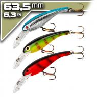 Cotton Cordell Wally Diver 6,35cm/6,35g - Trio pack