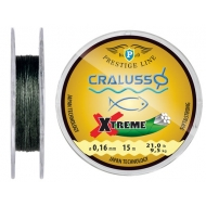 CRALUSSO Xtreme Fonott előke - 0,12mm (15m)
