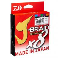 DAIWA J-Braid Grand 0.13mm/135m Yellow - fonottzsinór