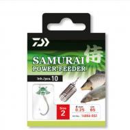 DAIWA Samurai előkötött Power feeder horog 2-es/85cm
