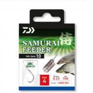 DAIWA Samurai előkötött feeder horog 4-es/100cm