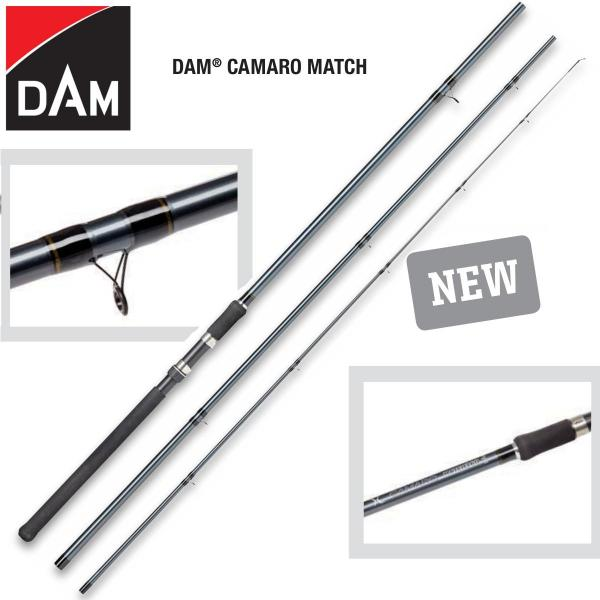 D.A.M Camaro match 3,90m 1-15gr match bot