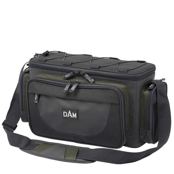 D.A.M Carryal pergető horgásztáska  S + 2 doboz