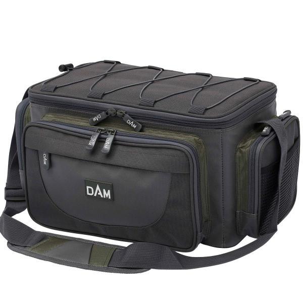 D.A.M Caryall horgász táska L méret + 4 csalidoboz